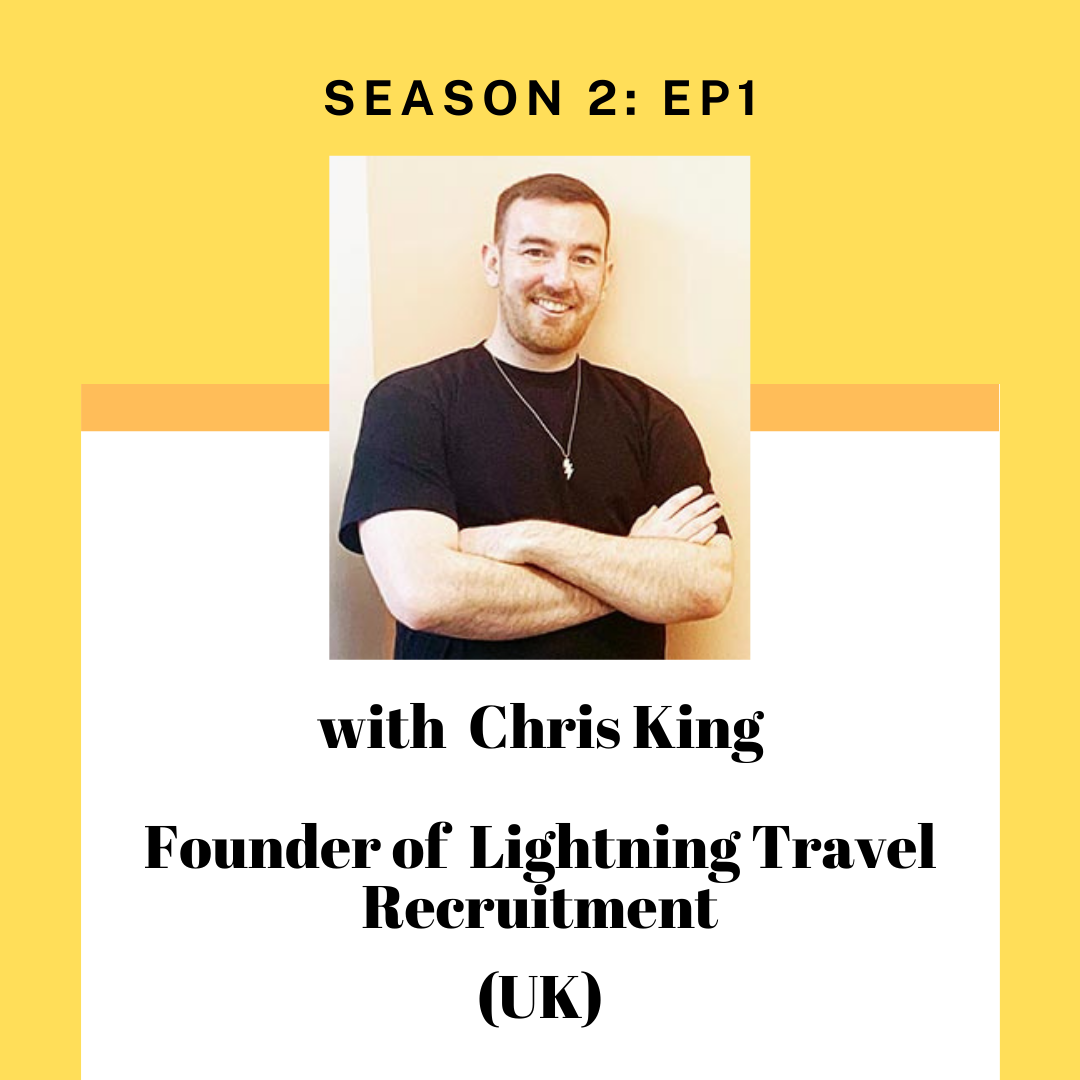 Chris King for Tourism Entrepreneur Podcast