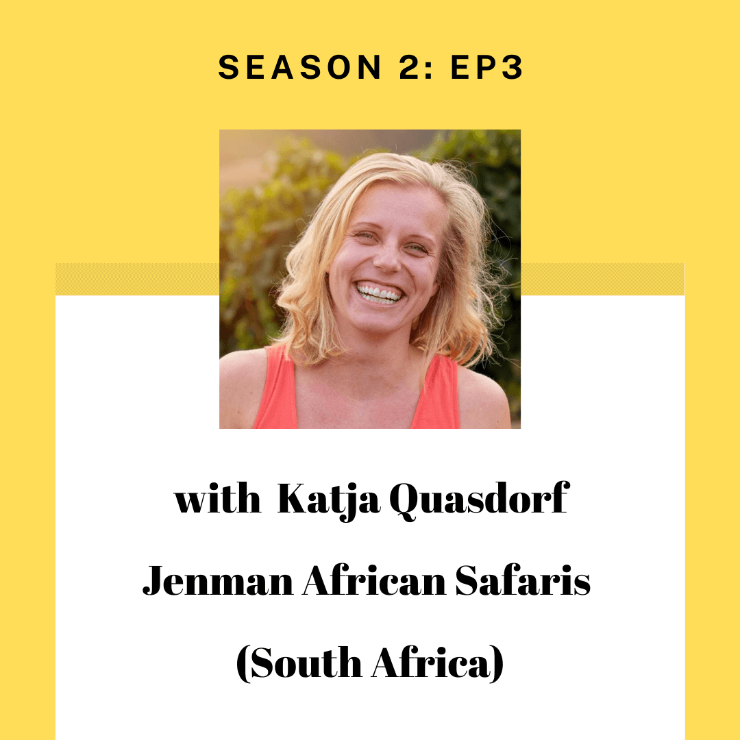 Katja Quasdorf of Jenman Safaris