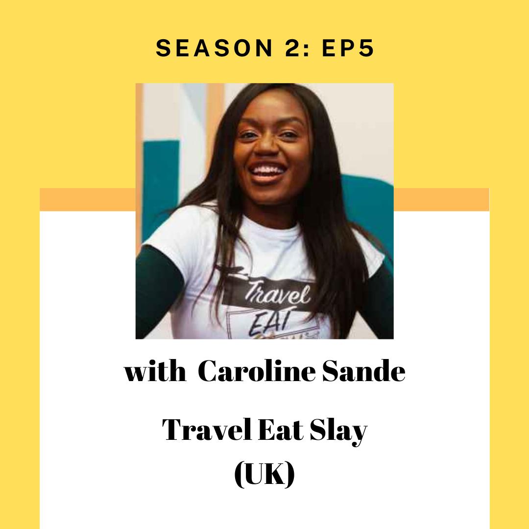 Caroline Sande for Tourism Entrepreneur
