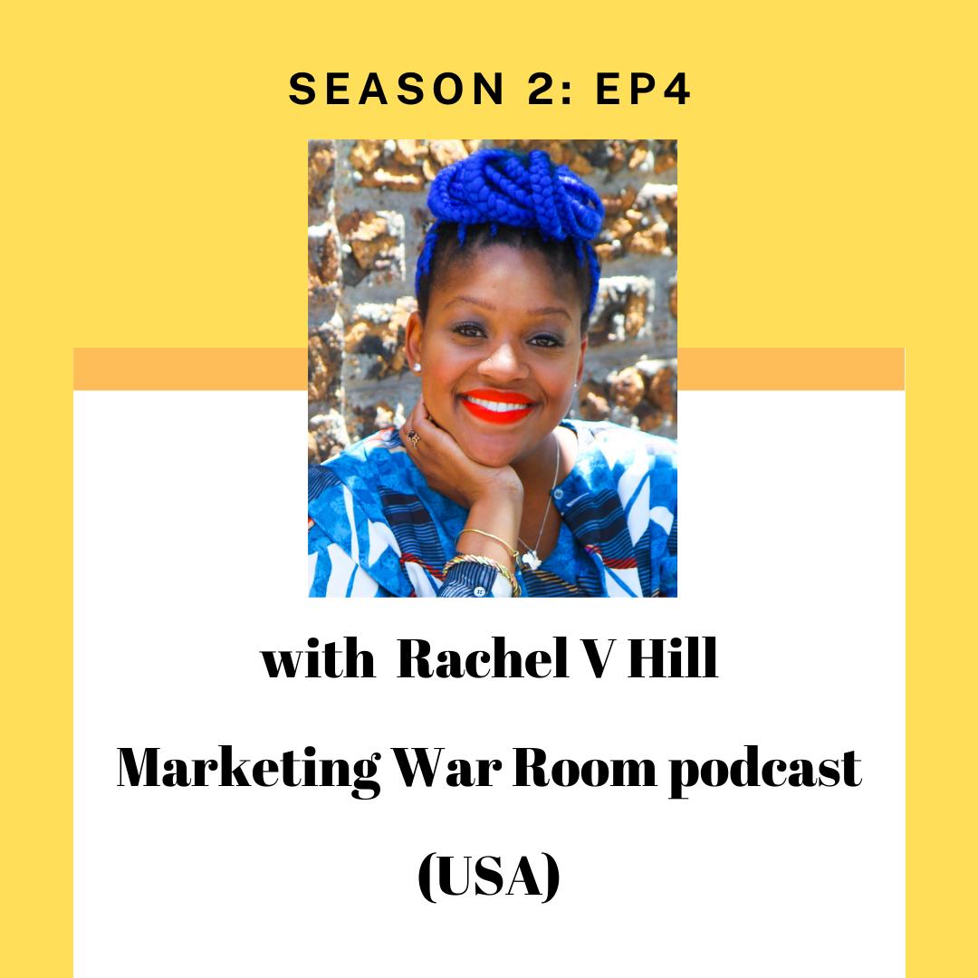 Rachel V Hill for tourism entrepreneur podcast