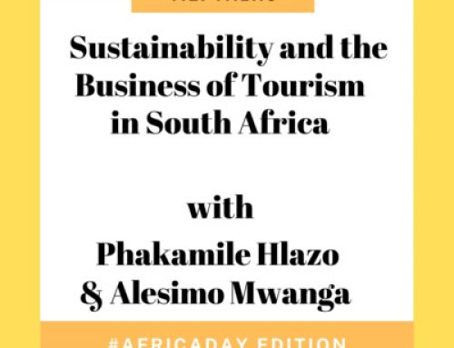6: T.E. Talks: sustainability and the business of tourism in South Africa with Phakamile Hlazo and Alesimo Mwanga