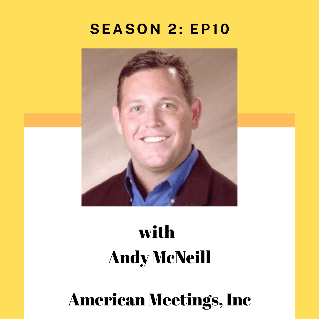 Andy Mcneill for Tourism entrepreneur podcast