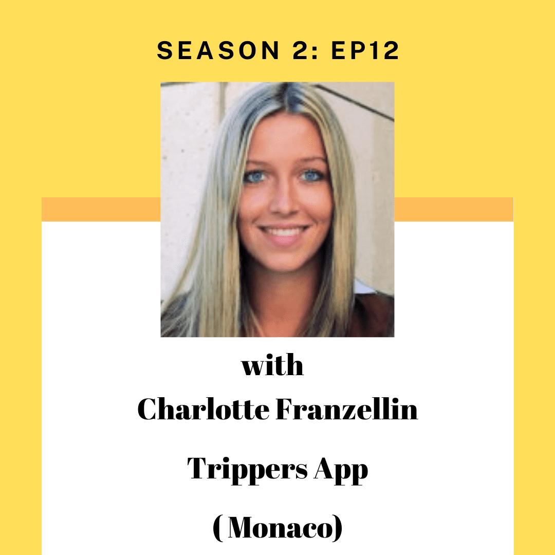 Charlotte Franzellin for Tourism Entrepreneur podcast